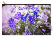 Summer Pansies Carry-all Pouch