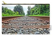 Summer Railroad Tracks Carry-all Pouch