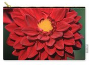 Fiery Red Dahlia Carry-all Pouch