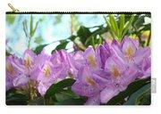 Summer Rhodies Flowers Purple Floral Art Prints Carry-all Pouch