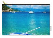 Summer Sailing In The Med Carry-all Pouch