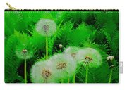 Summer Scenery In Green Carry-all Pouch