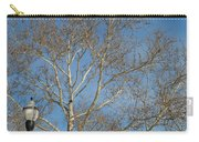 Summer Sky Winter Day Carry-all Pouch