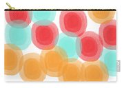 Summer Sorbet- Abstract Painting Carry-all Pouch