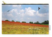 Summer Spectacular - Red Kites Over Poppy Fields Carry-all Pouch