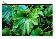 Summer Squash Leaves Carry-all Pouch