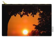 Summer Sunrise Right Side Carry-all Pouch