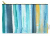Summer Surf- Abstract Painting Carry-all Pouch