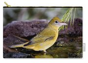 Summer Tanager Female In Water Carry-all Pouch