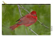 Summer Tanager Male Carry-all Pouch