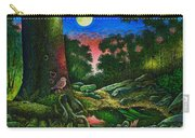Summer Twilight In The Forest Carry-all Pouch