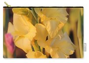 Summer Yellow Gladiolus Carry-all Pouch