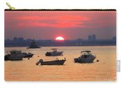 Late Summer Sunset Over The Bay Carry-all Pouch