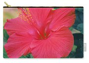 Summer's Last Hibiscus Carry-all Pouch