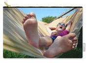 Summertime And The Livin' Is Easy Carry-all Pouch by Laura Fasulo