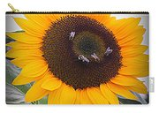 Summertime Beauty - Sunflower Carry-all Pouch