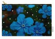 Summertime Blues Pop Art Carry-all Pouch