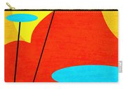 Summertime Blues Carry-all Pouch