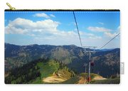 Summertime Chairlift Ride Carry-all Pouch