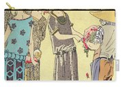 Summertime Dress Designs By Paul Poiret Carry-all Pouch by French School
