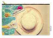 Summertime Postcards Carry-all Pouch