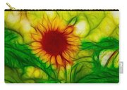 Sun And A Flower Carry-all Pouch