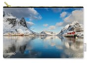 Sun And Ice Reinefjord Carry-all Pouch