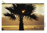 Sun And Palm And Sea Carry-all Pouch