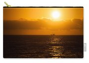 Sun And Ship Carry-all Pouch