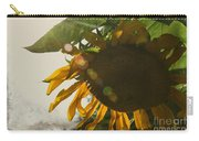 Sun And Sunflower Carry-all Pouch