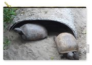 Sun Basking Turtles Carry-all Pouch