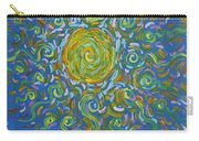 Sun Burst Of Squiggles Carry-all Pouch