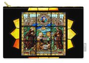 Sun Burst Stained Glass Carry-all Pouch