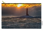 Sun Climbing Over Thacher Island Lighthouse Carry-all Pouch