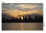 Sun Comes Up On New York City Carry-all Pouch