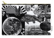 Sun Fish Tomato Chevy Carry-all Pouch by Genevieve Esson