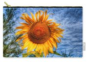 Sun Flower Carry-all Pouch by Adrian Evans