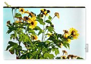 Sun Flowers In The Sun Carry-all Pouch
