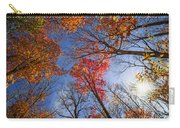 Sun In Fall Forest Canopy  Carry-all Pouch