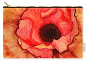 Sun Kissed Poppy Carry-all Pouch