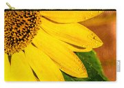 Sun-kissed Sunflower Carry-all Pouch