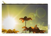 Sun Lit Flowers Carry-all Pouch