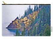 Sun Notch On A Rainy Day At Crater Lake National Park-oregon Carry-all Pouch