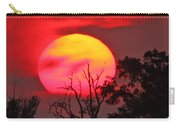 Louisiana Sunset On Fire Carry-all Pouch