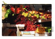 Sun On Fruit Close Up Carry-all Pouch