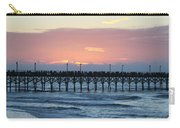 Sun Over Crowed Pier Carry-all Pouch