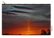 Sun Pillar In The Morning Carry-all Pouch