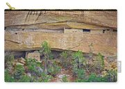 Sun Point Pueblo View-12-1300 Ad  On Chapin Mesa Top Loop Road In Mesa Verde National Park-colorado  Carry-all Pouch