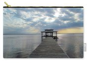 Sun Rays On The Lake Carry-all Pouch