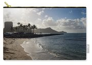 Sun Sand And Waves - Waikiki Honolulu Hawaii Carry-all Pouch